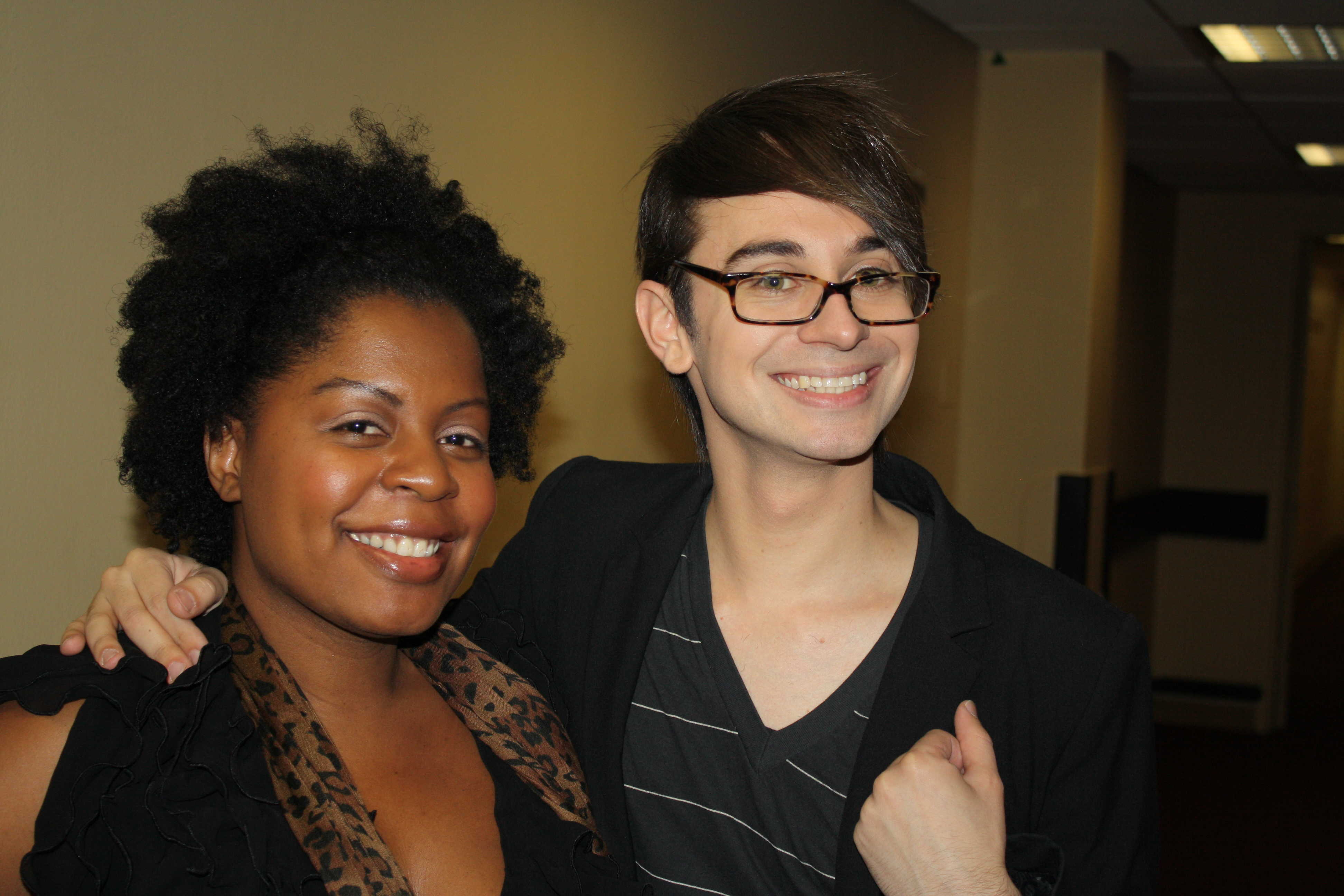 The look for less with Christian Siriano and Nate Berkus