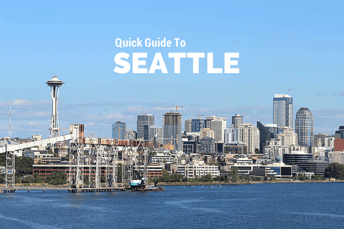 what to do in Seattle Washington