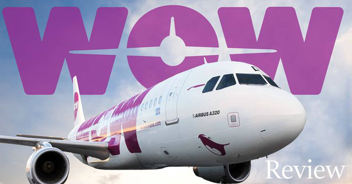 What it was like to fly WOW Airlines.