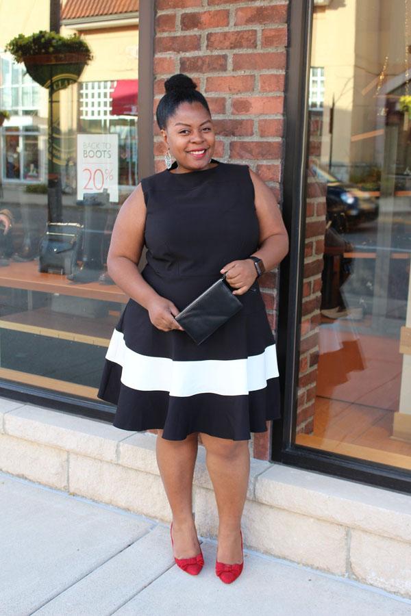 Simply Be Tulip Skirt Dress