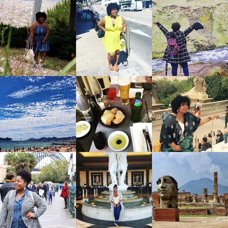 African-American girl travels the world. #TravelNoire
