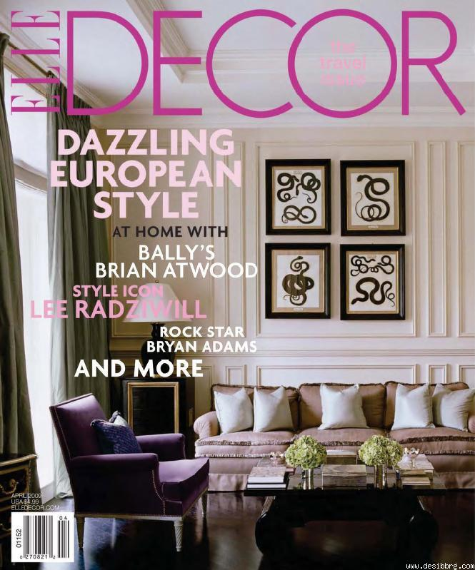 Free Subscription To Elle Decor Magazine The Limerick Lane