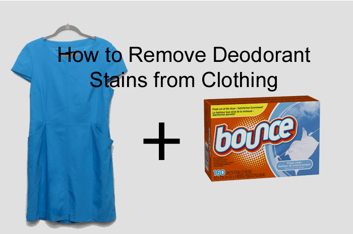 How to get deodorant stains out of clothes the limerick lane for How to remove antiperspirant from shirts