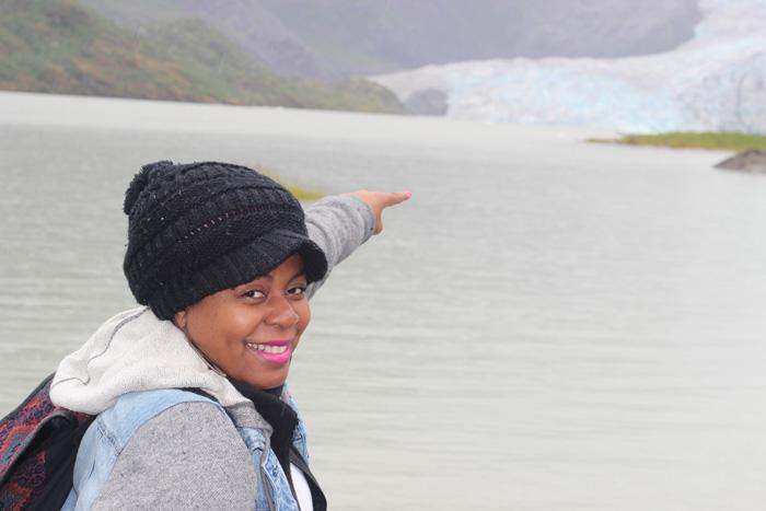 Black girl traveling Alaska. #Travelnoire